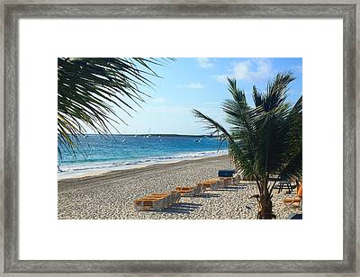 Framed Print featuring the photograph Orient Beach St Maarten by Catie Canetti