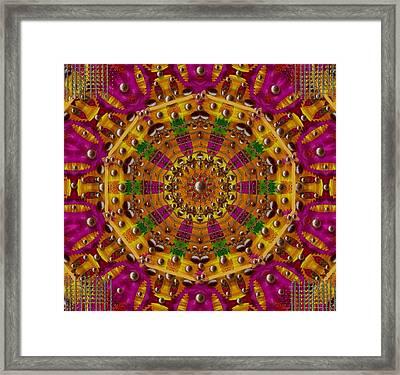 Orient Sun In Fantasy Style Framed Print