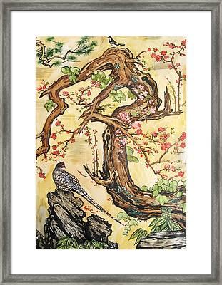 Oriental Landscape2 Framed Print by Michail Noskov