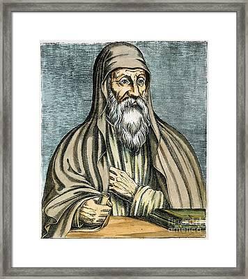 Origen (185?-254?) Framed Print by Granger
