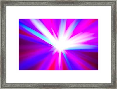 Origin Of Kosmos Framed Print