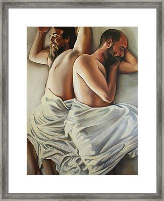 Origin Of Love 1 Framed Print by Emily Jones
