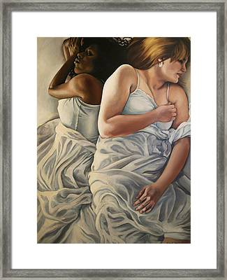 Origin Of Love 2 Framed Print by Emily Jones