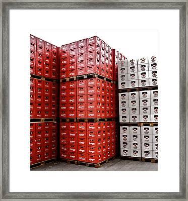 Original Budweiser Shipping Out Framed Print