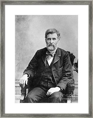 Orion Clemens (1825-1897) Framed Print
