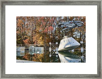 Orion Water Impact Test Framed Print by NASA/Science Source