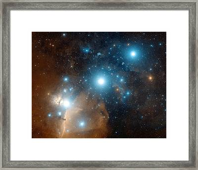 Orion's Belt Framed Print by Davide De Martin