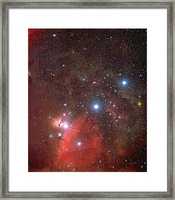 Orion's Belt Framed Print
