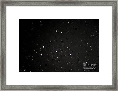 Orions Belt Framed Print by Stephen Whisman