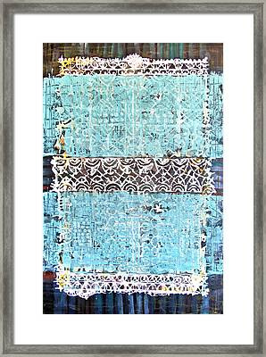 Framed Print featuring the painting Ornaments by Lolita Bronzini