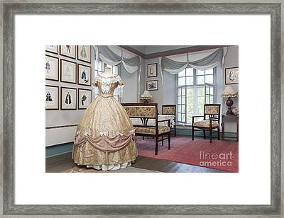 Ornate Dress And Classic Fashion Designs Framed Print by Jaak Nilson