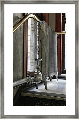 Ornate Heat Framed Print by Peter Chilelli