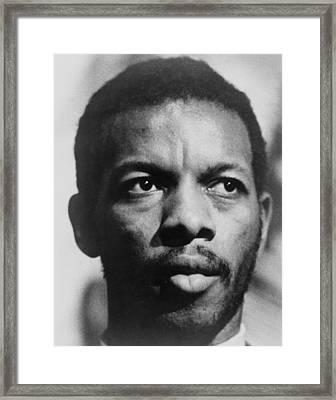 Ornette Coleman B. 1930 African Framed Print by Everett