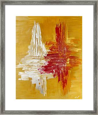 Oro De Plata Framed Print by Thomas Kleiner