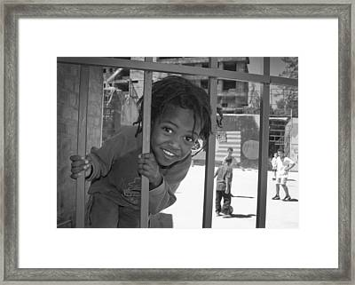 Orphanage In Addis Ababa Framed Print by Nichon Thorstrom