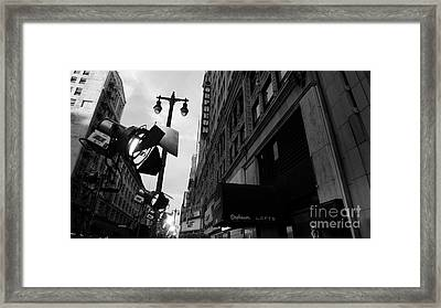 Framed Print featuring the photograph Orpheum Theater by Nina Prommer
