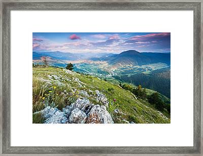 Orphic Land Framed Print