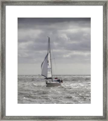 Orton Yacht Framed Print