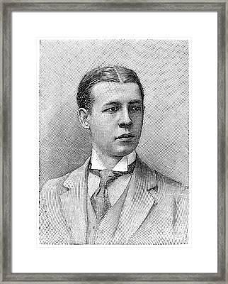 O.s. Campbell, 1891 Framed Print by Granger