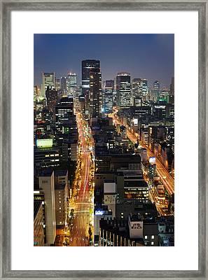 Osaka Framed Print by Photo by ball1515