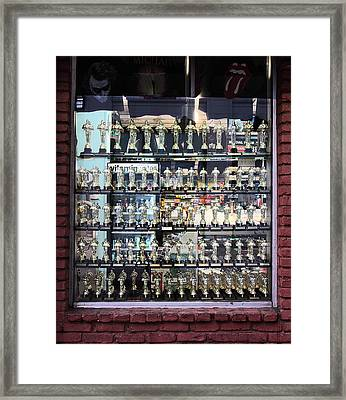 Oscar For Sale Framed Print by Viktor Savchenko