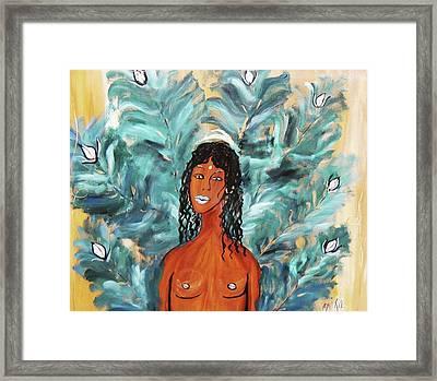 Oshun Framed Print by Oriya Rae