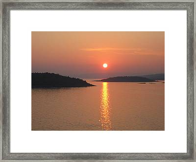 #oslo #norway Framed Print