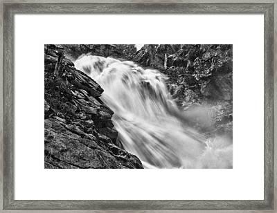 Osterbro Falls Framed Print