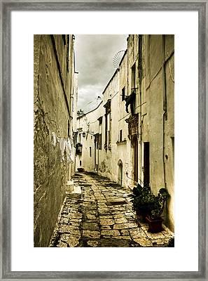 Ostuni - Apulia Framed Print