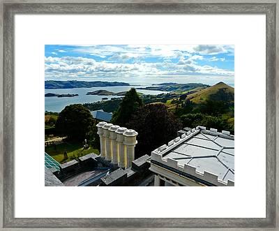 Otago From Larnach Castle Framed Print