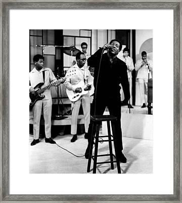Otis Redding, Circa 1967 Framed Print by Everett