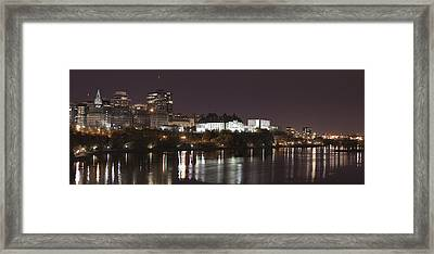 Framed Print featuring the photograph Ottawa Skyline by Eunice Gibb