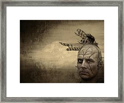 Our American Heritage Framed Print by Maria Dryfhout