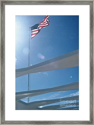 Our Country Framed Print by Alcina Morello