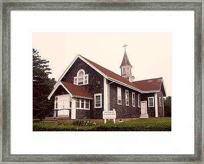 Our Lady Framed Print by Frank Winters