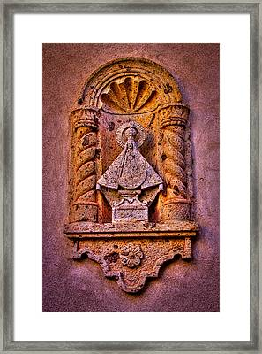 Our Lady Of Good Success At The Chapel In Tlaquepaque Framed Print by David Patterson