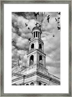 Our Lady Of Pompeii Church Framed Print