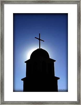 Our Lord Rises Framed Print