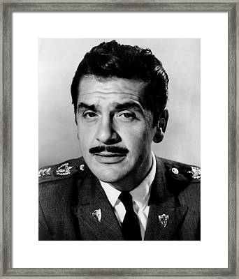 Our Man In Havana, Ernie Kovacs, 1959 Framed Print by Everett