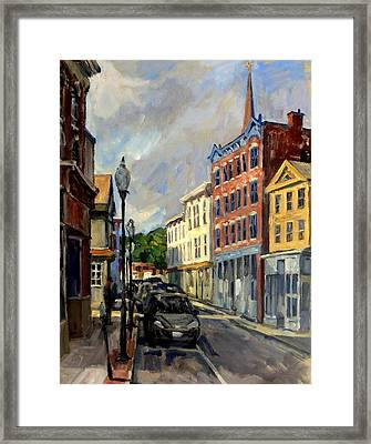 Our Town North Adams Framed Print