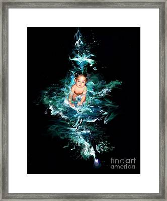 Our Water Child Framed Print