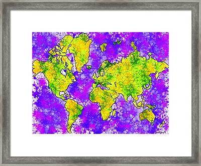 Our World Framed Print by Stephen Younts