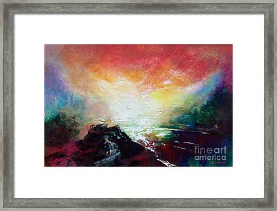 Ouse Walk Framed Print by Neil McBride