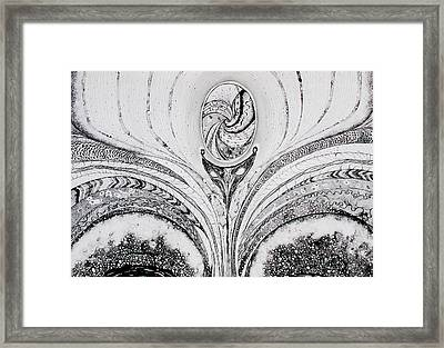 Ousia The Birth Framed Print by Erika Di pasquo