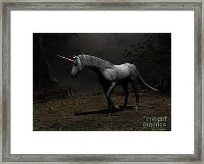 Out From Shadows Framed Print by Sipo Liimatainen
