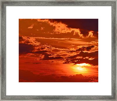 Out My Door Framed Print by Tony Beck