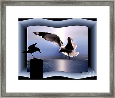 Out Of Bounds Framed Print by Dale   Ford