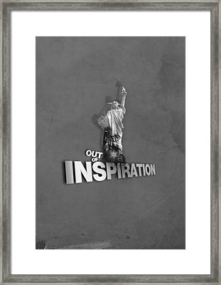 Out Of Inspiration Framed Print by Daniel Stephen Gallery