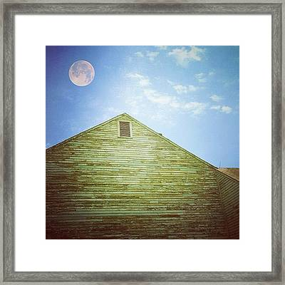 Out Of Step And Into Space Framed Print by Amy DiPasquale