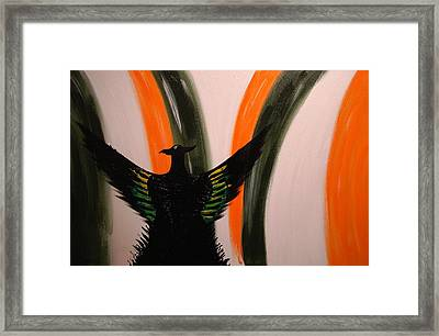 Out Of The Ashes Framed Print by Stephen P ODonnell Sr
